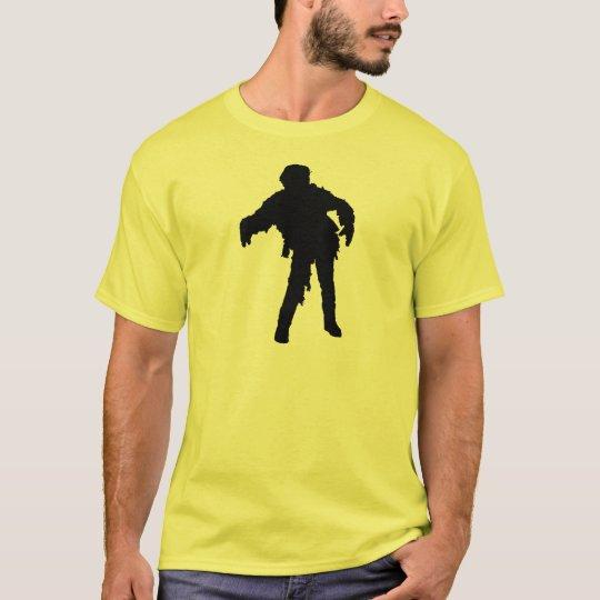 Zombie Black Silhouette T-Shirt