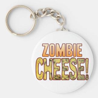 Zombie Blue Cheese Keychain