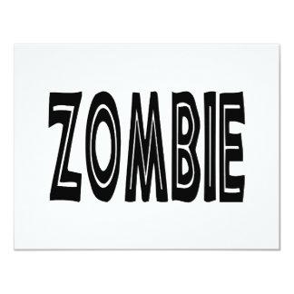 Zombie Bold Card