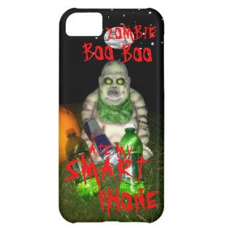 ZOMBIE BOO BOO ATE MY SMART PHONE COVER FOR iPhone 5C