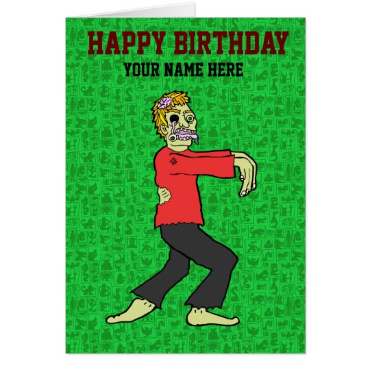 Zombie - Book of Monsters Card