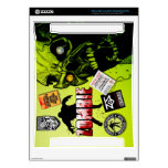 Zombie Box 360 Decal For The Xbox 360