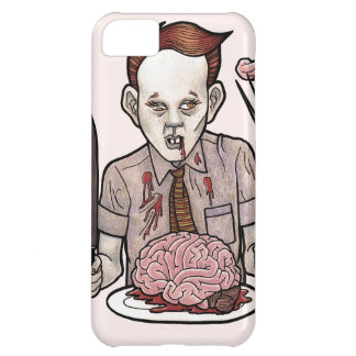 Zombie Boy Eating Brains iPhone 5C Covers