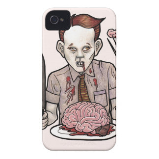 Zombie Boy Eating Brains iPhone 4 Case