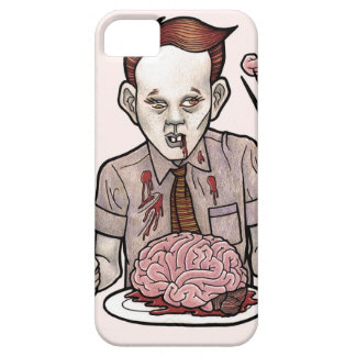 Zombie Boy Eating Brains iPhone SE/5/5s Case