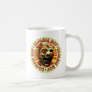 Zombie Boy Classic White Coffee Mug