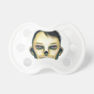 Zombie Boy Smiling Pacifier