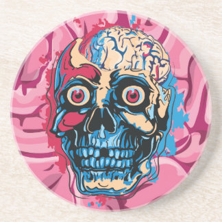 Zombie Brain Drink Coaster