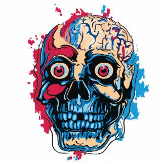 Zombie Brain Cutout