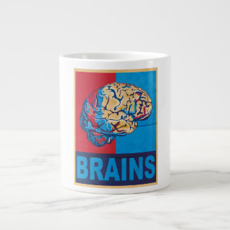 Zombie Brain Large Coffee Mug