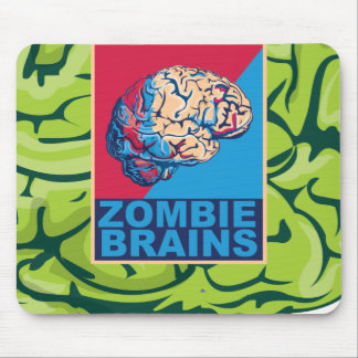 Zombie Brain Mouse Pad