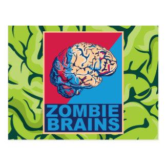 Zombie Brain Postcard