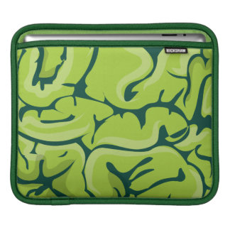 Zombie Brain Sleeves For iPads