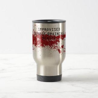 Zombie braining mug