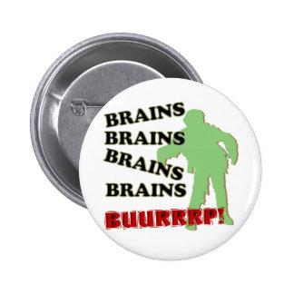 Zombie Brains Brains Brains Burp! Button