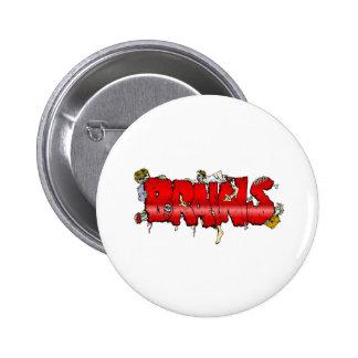 Zombie BRAINS Button