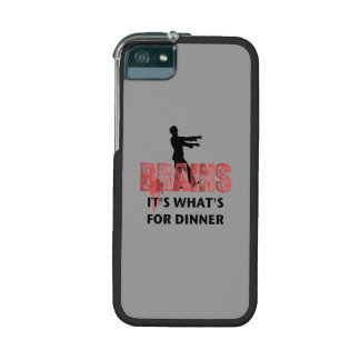 Zombie Brains Dinner iPhone 5 Covers