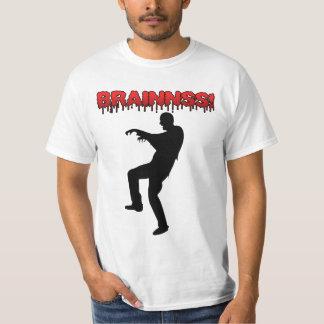 Zombie Brains Halloween Shirt
