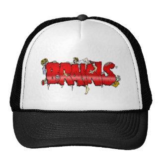 Zombie BRAINS Trucker Hat