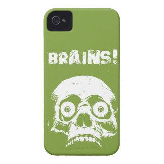 Zombie Brains iPhone 4 4s Case Romero Style