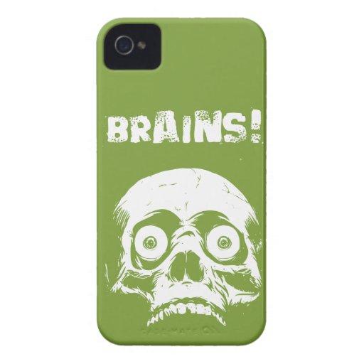 Zombie Brains iPhone 4 4s Case Romero Style Case-Mate iPhone 4 Case