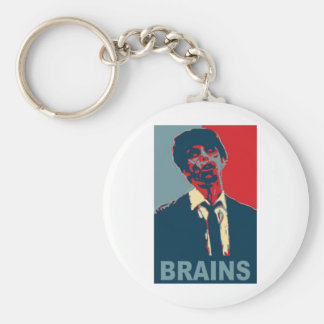 Zombie Brains Keychain