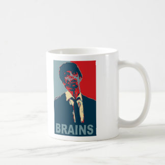 Zombie Brains Classic White Coffee Mug