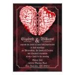 Zombie Brains Wedding Invitation