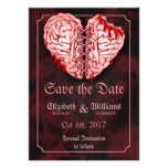 Zombie Brains Wedding Save the Date Card
