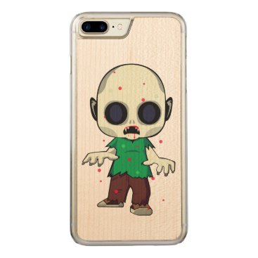 Halloween Themed Zombie Brat Carved iPhone 7 Plus Case