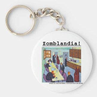 Zombie Breakroom II Gifts Basic Round Button Keychain