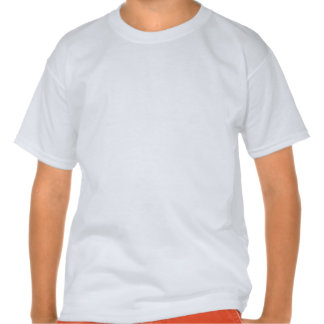Zombie; Bright Rainbow Stripes Tee Shirt