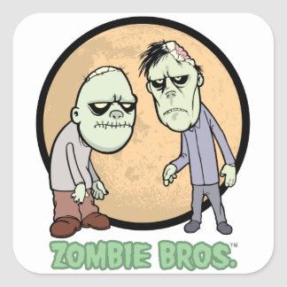 Zombie Bros. sticker