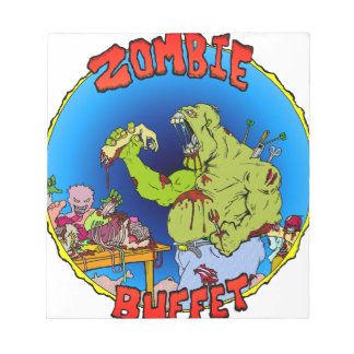 Zombie Buffet Notepad