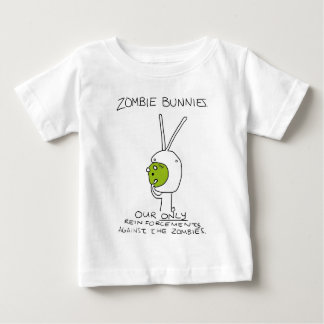 Zombie Bunnies! (w/o stripes) Baby T-Shirt