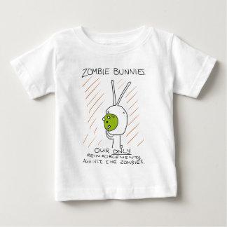 Zombie Bunnies! (w/ stripes) Baby T-Shirt