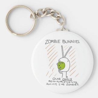 Zombie Bunnies! (w/ stripes) Key Chain