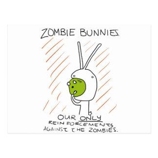 Zombie Bunnies! (w/ stripes) Post Cards
