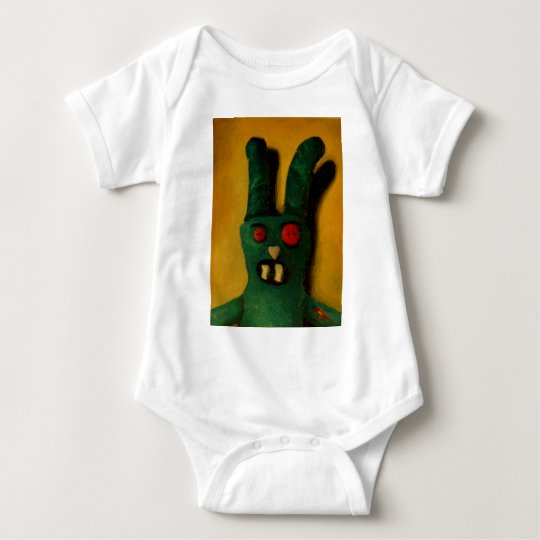 Zombie Bunny Baby Bodysuit