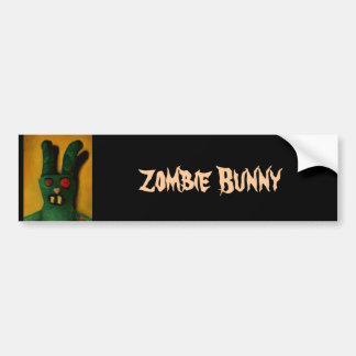Zombie Bunny Bumper Stickers