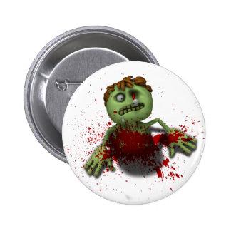 Zombie Burst 2 Inch Round Button