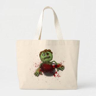 Zombie Burst Jumbo Tote Bag