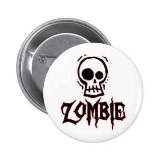 Zombie 2 Inch Round Button