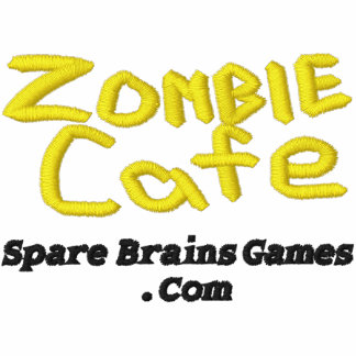 Zombie Cafe Polo Red