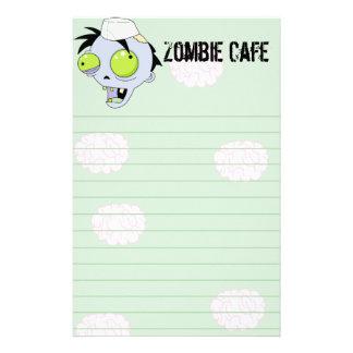 Zombie Cafe Custom Stationery