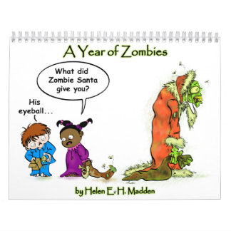 Zombie Calendar! Calendar