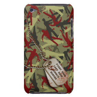Zombie Camo w/ Dog Tags iPod Touch Cases