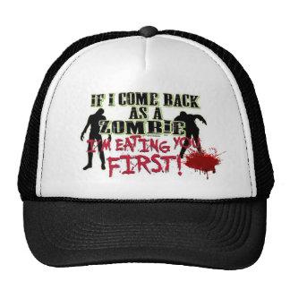 Zombie Cap Trucker Hat