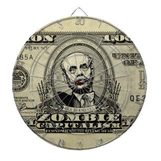 Zombie Capitalism Bernanke Dart Boards