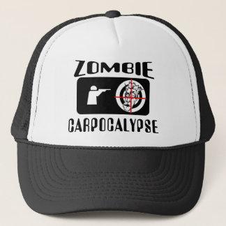 Zombie Carpocalypse Hunting Trucker Hat